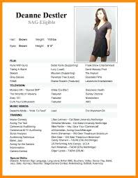 Modeling Resume Template New Csun Resume Template Best Modeling Resume For Modeling Resume