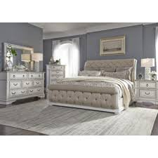 The Abbey Park King Upholstered Sleigh Bedroom Set By Liberty Furniture ...