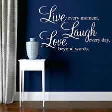 wall decals live laugh love wall art stickers large flower roses