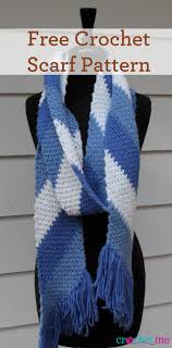 Free Scarf Patterns Fascinating Free Crochet Simple Striped Scarf Pattern Interweave