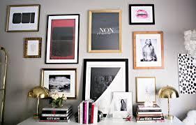 modern office walls. Erika Brechtel Office Gallery Wall Version 3 Femme Modern Kate Moss Rothko Aestate Oui Lips Ellsworth Walls