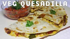 mexican food quesadilla. Plain Quesadilla Cheesy Vegetable Quesadillas  Popular Mexican Food Recipe Kanaku0027s  Kitchen  YouTube For Quesadilla