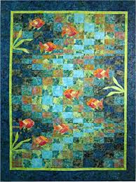 Molokini Bay Bargello Ocean Fish Quilt Pattern Quilting Time | eBay & Picture 1 of 1 Adamdwight.com