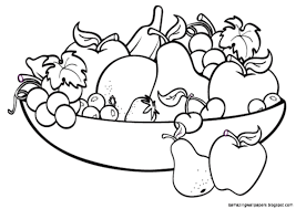 fruit bowl clipart black and white. Beautiful Clipart View Original Size Bowl Of Fruit Drawing Stock  For Clipart Black And White