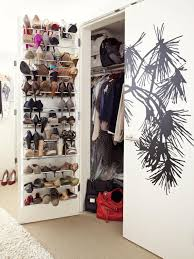 ... Surprising Shoe Rack Designs For Small Spaces: Shoe Cabinet With Doors  For Interior ...