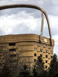 Longaberger home office Looking Picclick Longaberger Empties Famous Ohio Basket Building