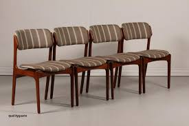 upholstered dining chairs awesome mid century od 49 teak dining chairs by erik buch