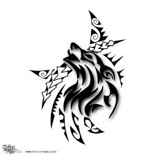 Tatuaggio Di Lupo Tribale Forza Passione Tattoo Custom Tattoo