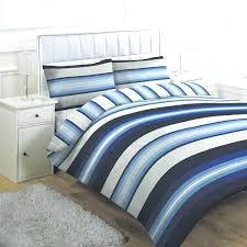 blue stripe duvet cover linens limited retro set king and white ticking navy red