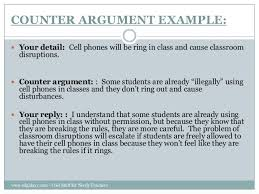 counter argument example argumentative essay counter argument  teaching counter arguments to students
