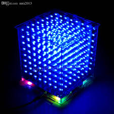 diy lighting effects. Wholesale Diy 3d 8s Led Mini Light Cube With The Most Perfect Animation Effects /3d 8 8x8x8 Kits/Junior,3d Display,Christmas Gift Electronic Signs Lighting