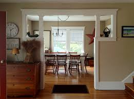 Glorious opening between rooms, Craftsman bungalow. The trim is EXACTLY the  profile I'