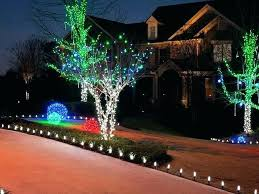 outdoor tree lighting ideas. Unique Outdoor Lighting Tree Ideas Holiday Tremendous Lights E