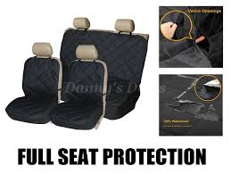 quilted car pet seat covers full set for land rover freelander 2 2006 2016