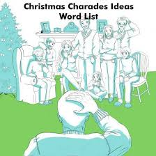 A list of Christmas charades ideas, perfect for parties or as a game ...