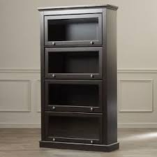 office bookcase with doors. Espresso Barrister Glass Door Bookcase Bookshelf Wooden Cabinet Display Office With Doors U