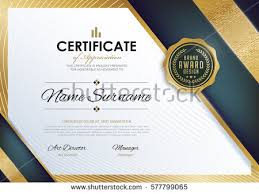 vector diploma template vector art stock graphics  certificate template luxury and modern pattern diploma vector illustration