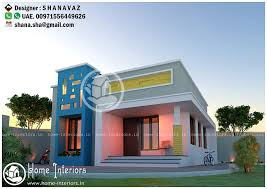 Small Picture 640 Sq Ft Low Cost Single Storied Modern Home Design Home Interiors