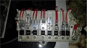e38 fuse box terminals no longer available