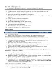 cv key strengths