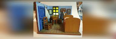 south korean father and son replicate van gogh s bedroom in arles using 3d printing