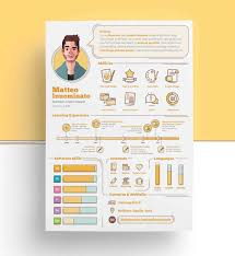 Graphic Resume Templates Infographic Resume Templates [24 Examples To Download Use Now] 6