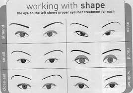 Eyeliner Chart How To Apply Eyeliner Leahsmakeup101