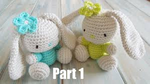 Free Crochet Bunny Pattern Beauteous Crochet Pt48 How To Crochet An Amigurumi Rabbit Yarn Scrap Friday