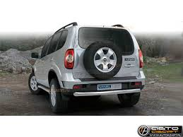 Chevrolet Niva 2009- <b>Защита задняя центральная</b> D 60,3 в ...