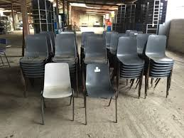 school chairs stacked. Modren Chairs PLASTIC SCHOOL CHAIRS ON METAL LEGS  STACKABLE Intended School Chairs Stacked