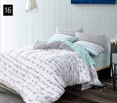 quality cotton duvet covers set simple cross bedding set double single duvet covers twin