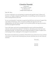 Example Covering Letter Uk Legal Assistant Cover Letters Primary