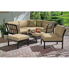 patio furniture sets patio sectional