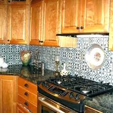 Tile Backsplash Install Magnificent Tin Look Backsplash Tin Tin Tile Backsplash Installation Locoblingco