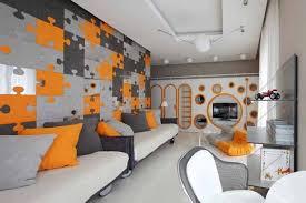 Image Of: Creative Unique Living Room Interior Design