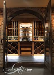 Wine Cellar Pictures Sommelier Select Custom Wine Cellars Genuwine Cellars