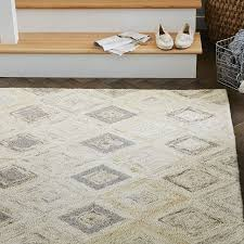 home and furniture astounding contemporary wool rugs of impressive snow peak west elm contemporary wool