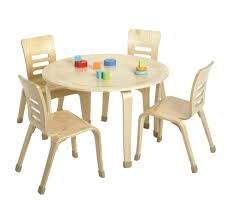 kids round table and chairs appealing small kids wooden round picnic table design with seating for kids round table