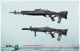 Bullpup Trigger Design Pravus Bullpup And Carbine By Mikernaut Illustration 2d