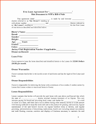 Simple Rent Agreement Letter Lovely Free Printable Lease Agreement