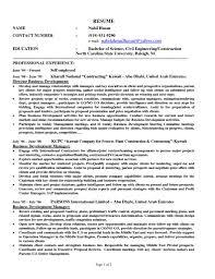 Self Employment Resume Samples Professional Resume Templates
