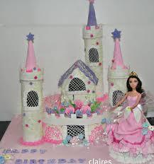 Castle And Princess Theme Cake Girl Cakes Udyog Vihar Chandigarh