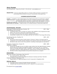 75 Resume Builder Good Resumer Example