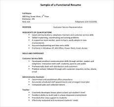 Qualifications For A Customer Service Representative Sample Customer Service Representative Resume 9 Free