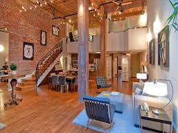 Warehouse Loft Apartment Apartments With Brick Walls Efeacd - Loft apartment brick