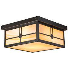 craftsman ceiling light old