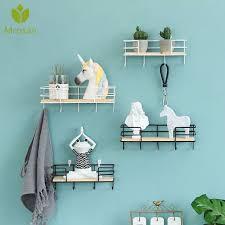 decorative wall shelves hat key holders