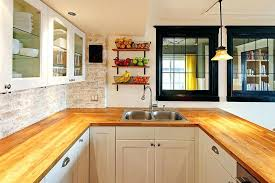 white country kitchen with butcher block. Butcher Block Countertops White Cabinet Country Kitchen With Maple Wood And Cabinets Walnut C