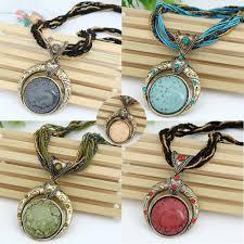 bohemian necklace jewelry popular retro