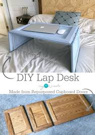 how to make a lap desk from repurposed cupboard doors full tutorial throughout decor 2